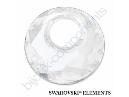 SWAROVSKI ELEMENTS přívěsek - Victory, crystal moonlight, 28mm