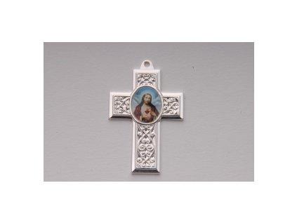 Kříž s obrázkem, cca 43mm
