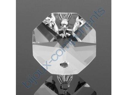 Strojně broušená hlavička dvoudírková, cca 1,6cm