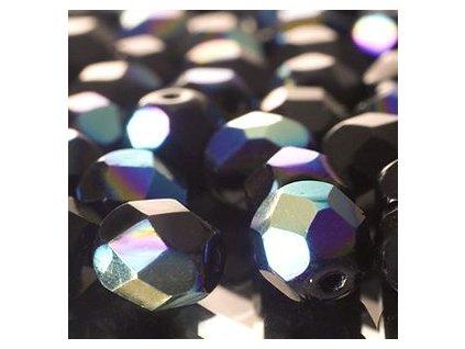 skleněné ohňové korálky, cca 8mm