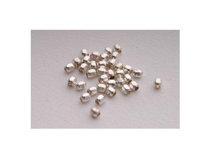 Mosazné perle, cca 2mm