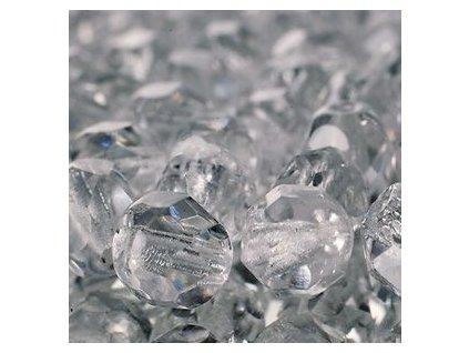 Skleněné ohňové korálky-krystal , vel.cca 8 mm