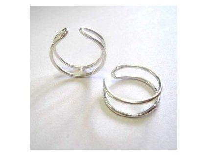 Prstenový kroužek, nastavitelný, min. vnitřní průměr cca 17mm