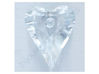 SWAROVSKI ELEMENTS přívěsek - Wild Heart, crystal, 17mm