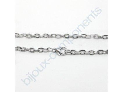 Náramek - řetízek, cca 3mm/18,5cm