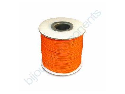 Splétané šňůrky - svítivě oranžová