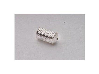 Ozdobný díl - sud cca 12x7 mm 6ks/balení