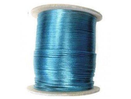 Saténová šňůrka modrá