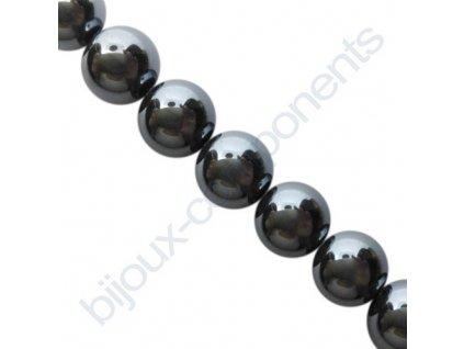 Polodrahokamové kuličky - Hematit