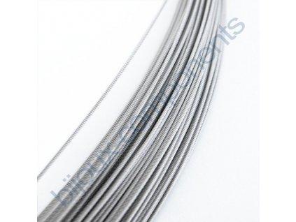 Nerezové lanko, průměr 0,54 mm, nerez ocel 316