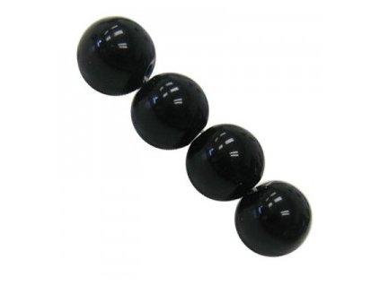 Polodrahokamové kuličky - black onyx