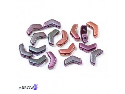 Arrow® - mix matovaných metalických barev