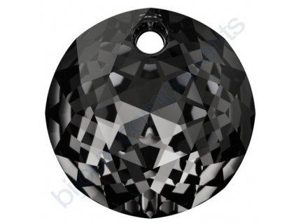 SWAROVSKI CRYSTALS přívěsek - Classic Cut, crystal silver night, 14mm