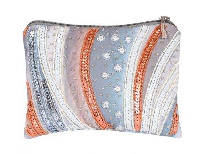 Kosmetická taška barevná - vyšívací sada