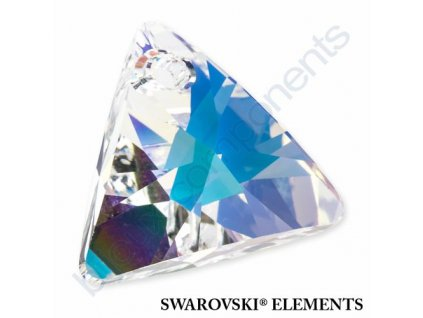 SWAROVSKI ELEMENTS přívěsek - XILION trojúhelník, crystal AB, 16mm