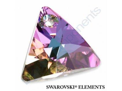 SWAROVSKI ELEMENTS přívěsek - XILION trojúhelník, crystal vitrail light P, 8mm