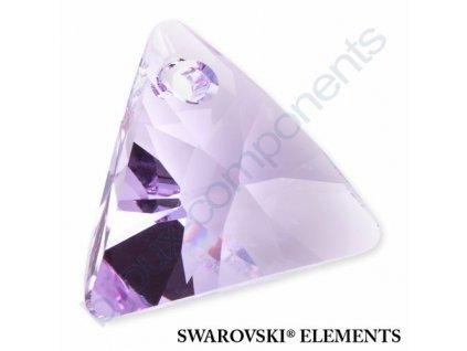 SWAROVSKI ELEMENTS přívěsek - XILION trojúhelník, violet, 8mm