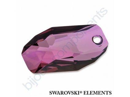SWAROVSKI ELEMENTS přívěsek - Meteor, crystal lilac shadow, 18mm