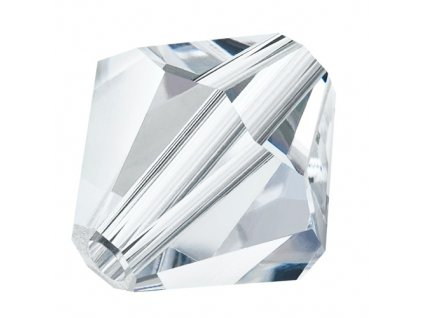 PRECIOSA - MC Bead Rondelle, Crystal, cca 6mm