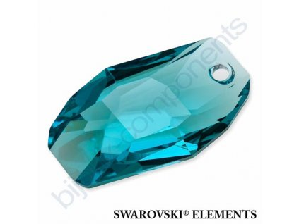 SWAROVSKI ELEMENTS přívěsek - Meteor, light turquoise, 18mm