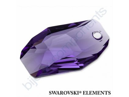 SWAROVSKI ELEMENTS přívěsek - Meteor, tanzanite, 28mm