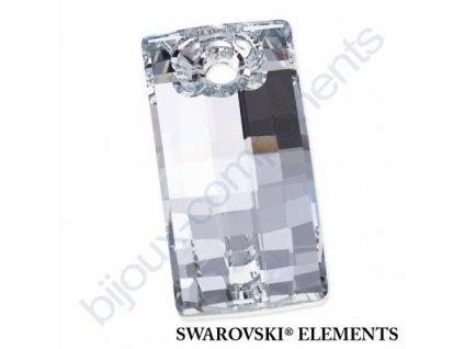 SWAROVSKI ELEMENTS přívěsek - Urban, crystal CAL V SI P, 20mm