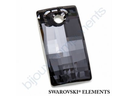 SWAROVSKI ELEMENTS přívěsek - Urban, crystal silver night, 30mm