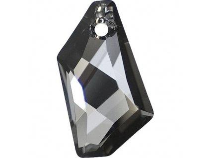 SWAROVSKI ELEMENTS přívěsek - DE-ART, crystal silvernight, 50mm