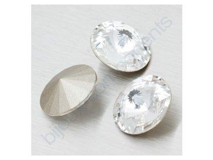 SWAROVSKI ELEMENTS kameny - Rivoli Chaton, crystal, 12mm
