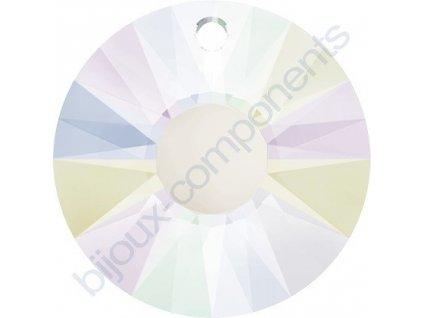 SWAROVSKI CRYSTALS přívěsek - Sun, crystal AB, 12mm