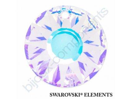 SWAROVSKI ELEMENTS přívěsek - Sun, crystal AB V, 19mm