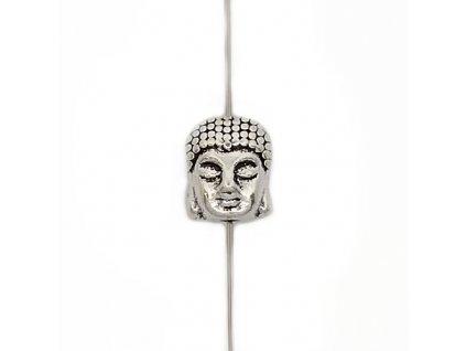 metal buddha as