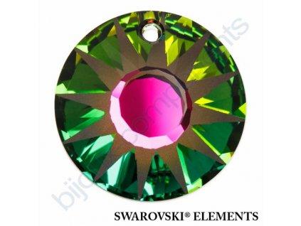 SWAROVSKI ELEMENTS přívěsek - Sun, crystal VM P, 19mm