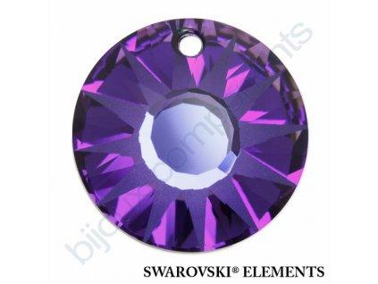 SWAROVSKI ELEMENTS přívěsek - Sun, crystal helio P, 19mm