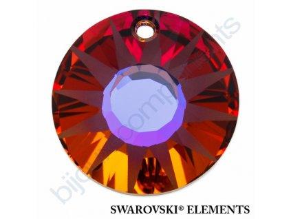 SWAROVSKI ELEMENTS přívěsek - Sun, crystal volcano P, 33mm