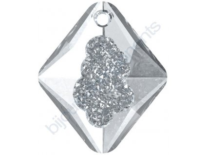 SWAROVSKI CRYSTALS přívěsek - Growing Crystal Rhombus, crystal, 26mm