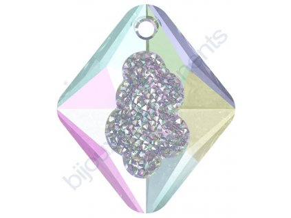 SWAROVSKI CRYSTALS přívěsek - Growing Crystal Rhombus, crystal vitrail light, 26mm