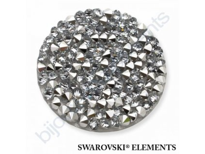 SWAROVSKI ELEMENTS - Crystal rocks, transparentní, crystal CAL, 30mm