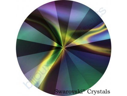 SWAROVSKI CRYSTALS rivoli - crystal rainbow dark F, 14mm