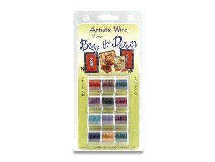 Umělecké barvené dráty