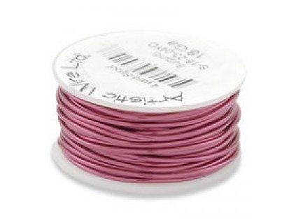 Umělecký barevný drát - burgundy