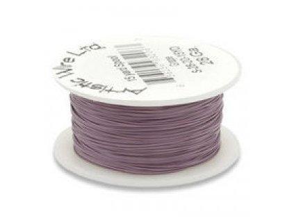 Umělecký barevný drát - bordó