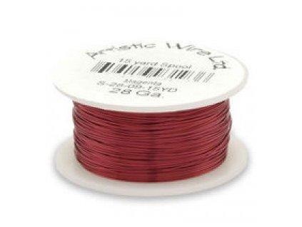 Umělecký barevný drát - purpurový