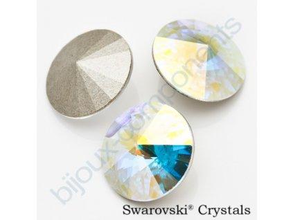 SWAROVSKI ELEMENTS kameny - Rivoli Chaton, crystal AB F, SS29 (cca 6mm)