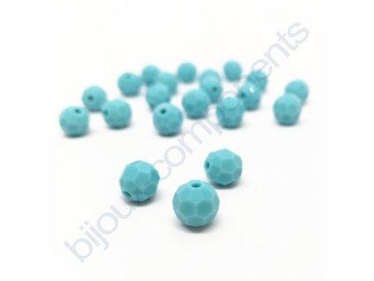 PRECIOSA - MC Bead Round, Turquoise, cca 6mm
