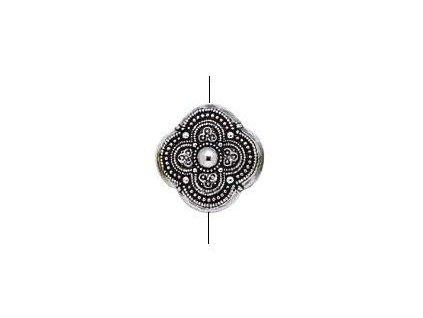 Akrylové korálky cca 22x22 mm