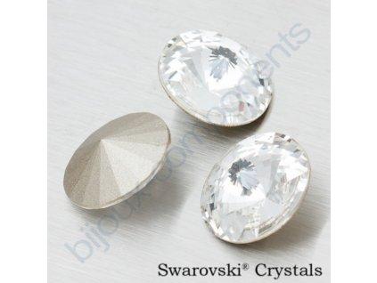 SWAROVSKI ELEMENTS kameny - Rivoli Chaton, crystal F, SS39 (cca 8mm)