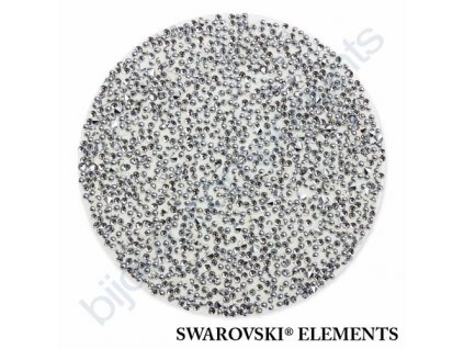 SWAROVSKI ELEMENTS - Crystal fabric, transparentní, crystal CAL, 30mm