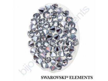 SWAROVSKI ELEMENTS - Crystal fine rocks, transparentní, crystal CAL, 30x24mm