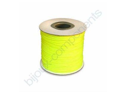 Splétané šňůrky - svítivě žlutá
